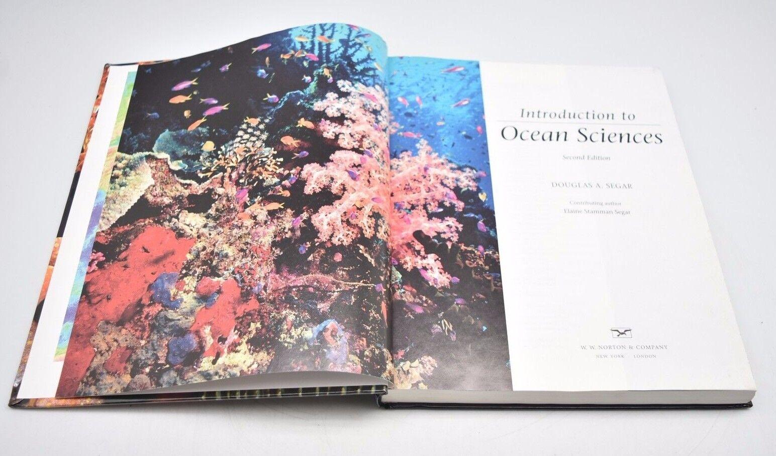 introduction to ocean sciences 2nd edition part 1 douglas a segar