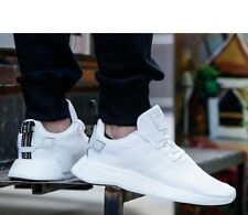8a735e187 Adidas NMD R2 PK Primeknit Crystal White Core Black Nomad BY9914 Mens 8.5  Shoes