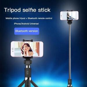 Selfie-Tripod-Mount-Phone-Holder-Stick-Monopod-Bluetooth-Remote-Shutter-CHZ