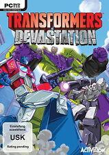 Transformers Devastation    (PC, 2009)  Neuware