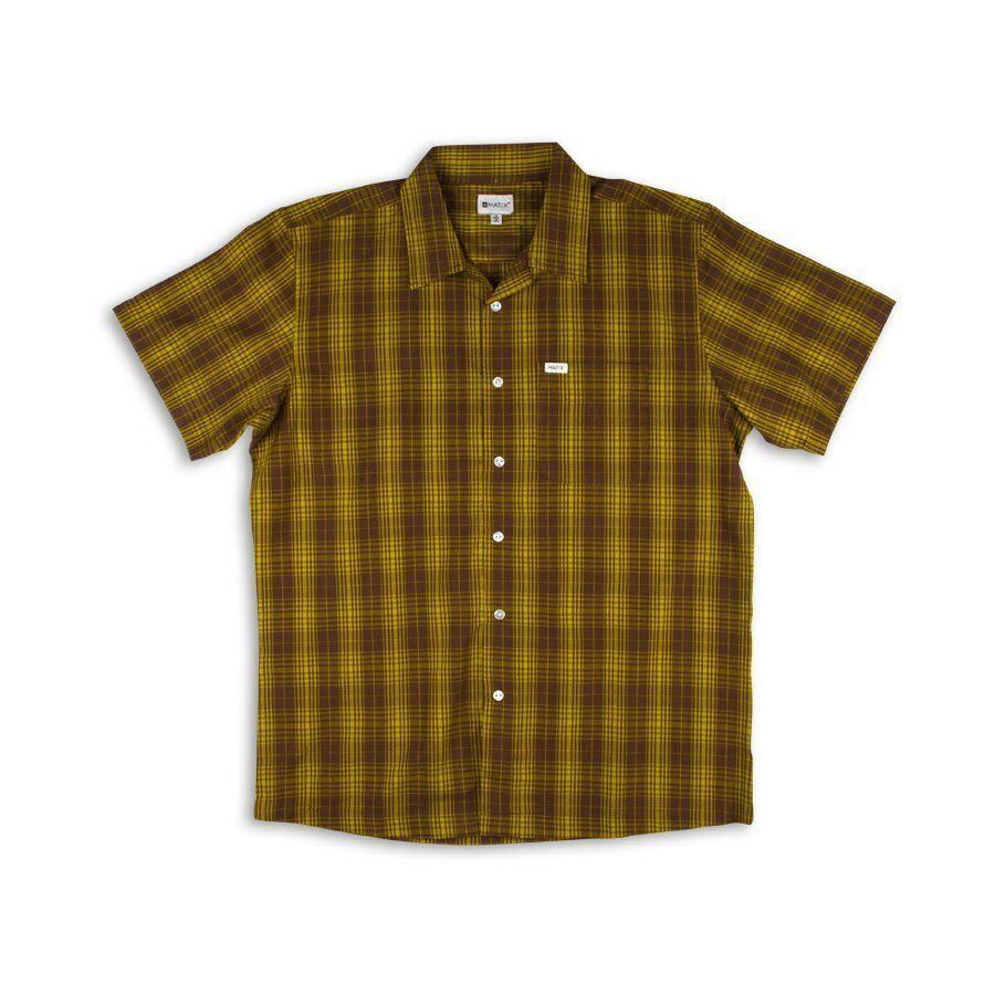MATIX Overdrive Woven Shirt (L) gold