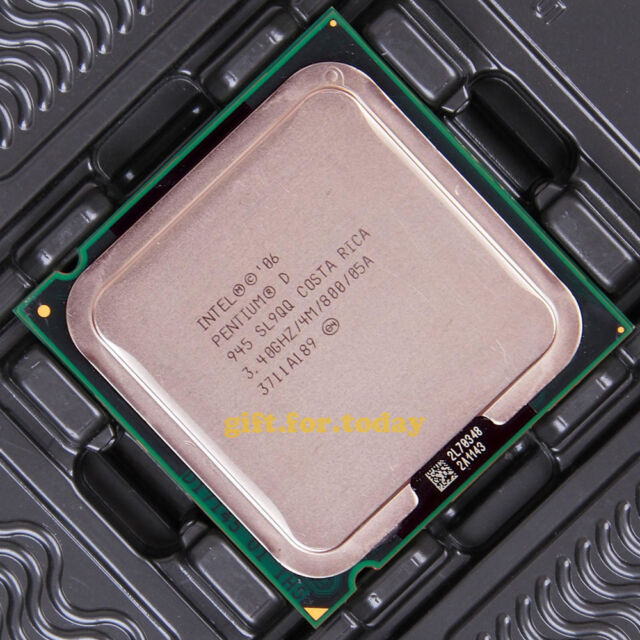 Intel Pentium D 945 3.4 GHz LGA 775 (HH80553PG0964MN) Prozessor CPU SL9QB SL9QQ
