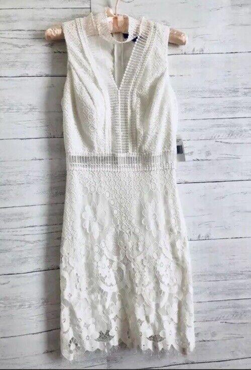 Jodi Jodi Jodi Kristopher lace ivory dress 1. NWT 338555