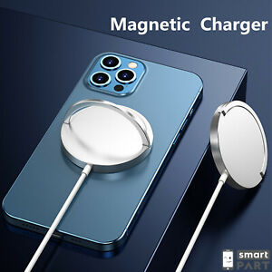 FÜR MAGSAFE WIRELESS CHARGER QI SCHNELL LADEGERÄT 15W iPHONE 12 PRO MAX MINI USB