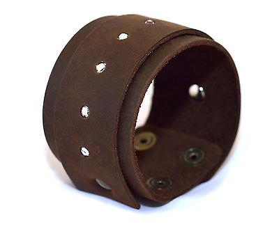 Bracciale in Pelle Cuoio leather bracelet idea regalo MADE IN ITALY Swarovski