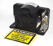 Universal Backup Beeper Warning Alarm 112dB - Construction Truck Heavy Vehicle