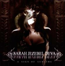 Sign of Sublime, A by Sarah Jezebel Deva (CD, Aug-2010, Candlelight)
