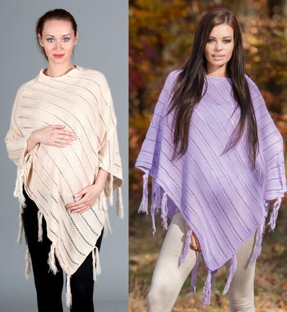Für Winter und Frühjahr Poncho / nicht nur Schwangerschaftspullover Umstands