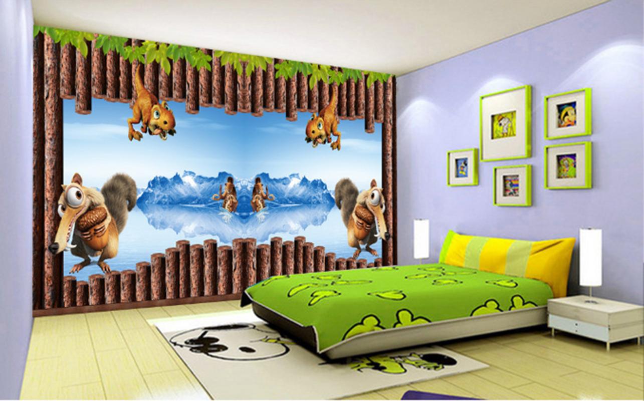 3D Karikatur Tierkind 789 Tapete Wandgemälde Tapeten Bild Familie DE Summer | Speichern  | Deutschland Online Shop  |