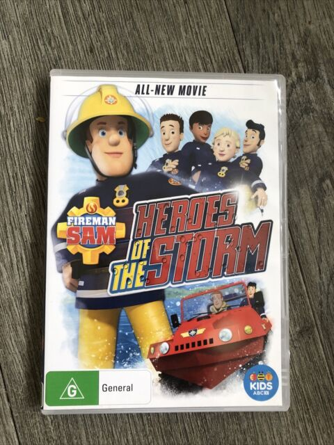 FIREMAN SAM - Heroes Of The Storm DVD Movie ABC For Kids Video