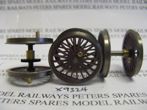 Hornby X9324 Class A4 Loco Driving Wheel Set Red