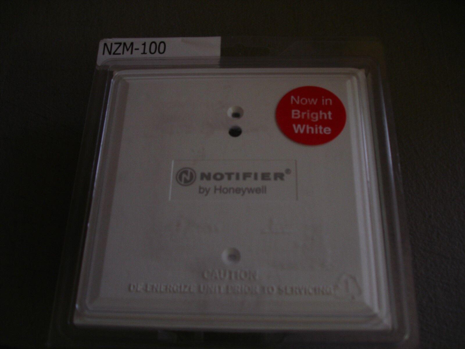 NOTIFIER  NZM-100  (WHITE)  NEW