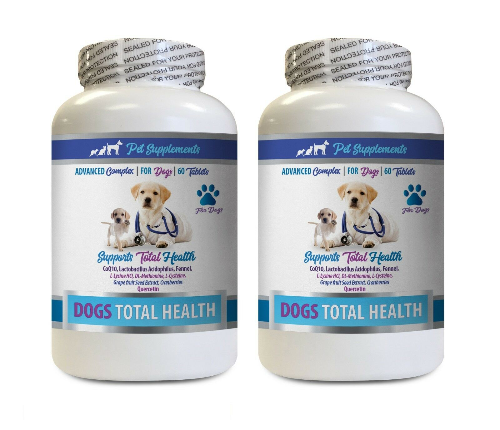 Hip and joint for dogs - DOG TOTAL HEALTH COMPLEX 2B- dog vitamin a