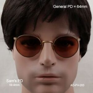 American Optical SAMPSON Ful-Vue  True antique Sunglasses & case