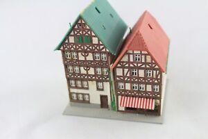 Kibri-6404-6820-36404-Timber-Frame-Houses-Fritzlar-Z-Gauge-Z261