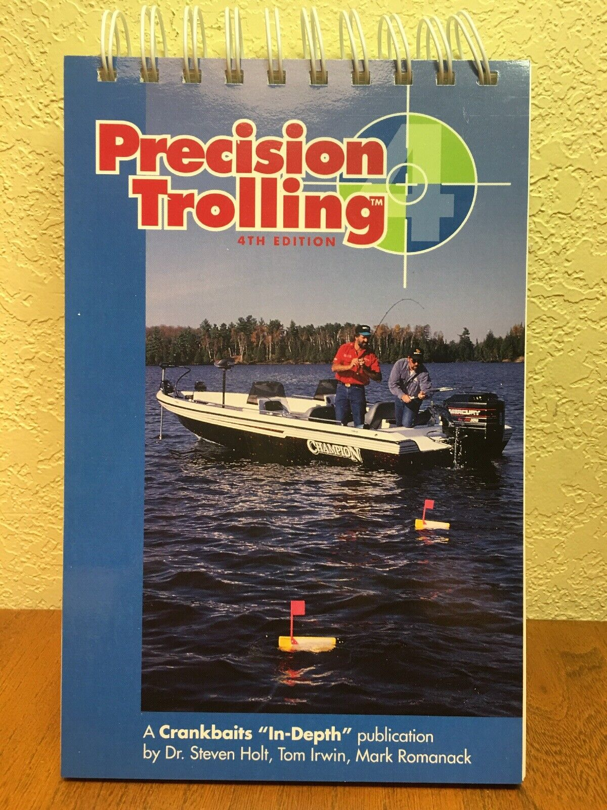 PRECISION TROLLING 4TH EDITION Fishing Book Crankbaits In-depth HOLT Romanack