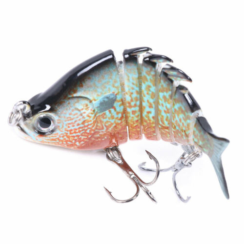 Hot Multi Jointed Fishing Lures Sinking Wobblers Swimbait Bait Crankbait 1Pc