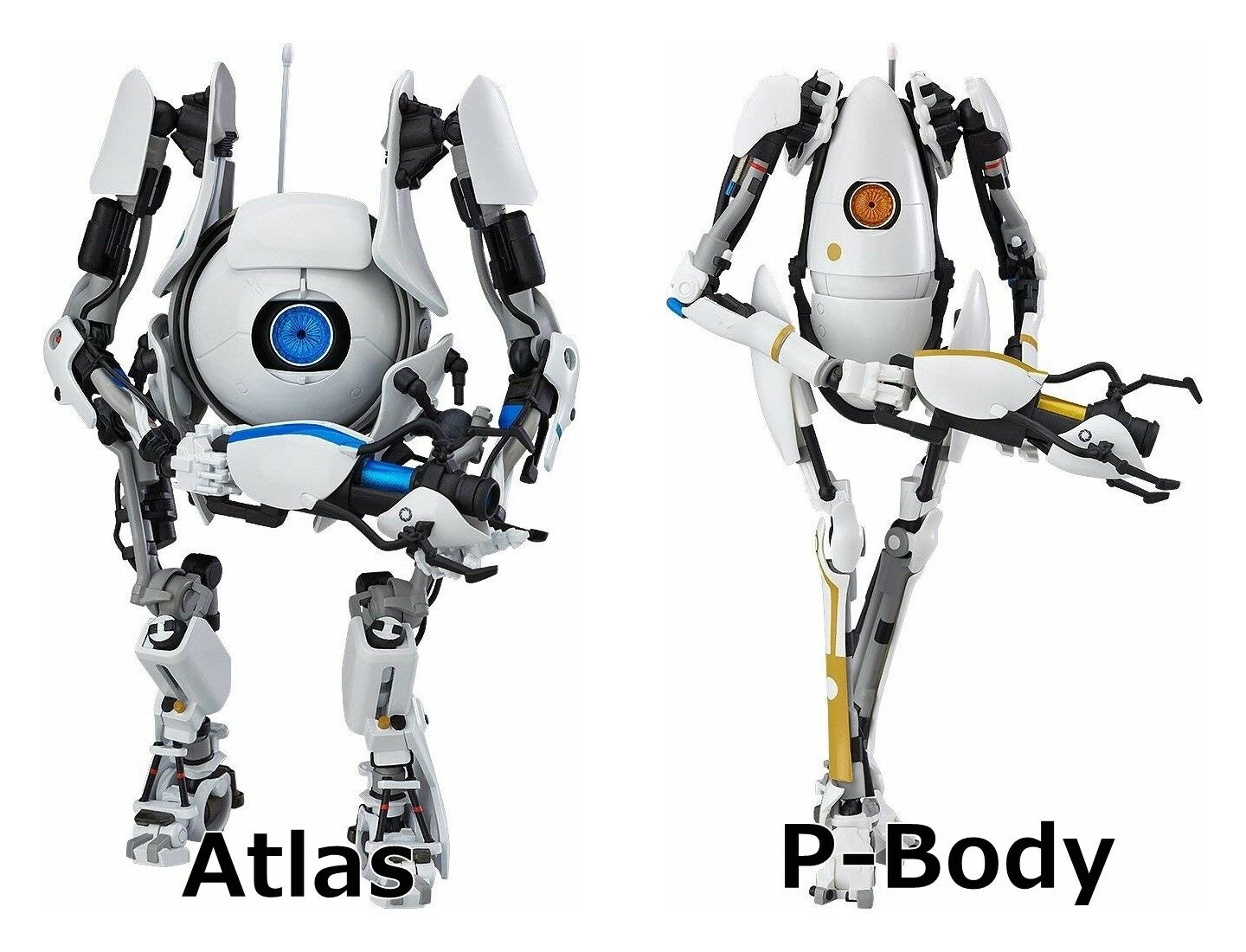 Figma Portal2 Atlas P-Body action figure Good Smile Company puzzle game