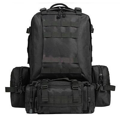 VARIOUS - Tactical MOLLE ASSAULT PACK Military Large 65L Rucksack Bag Backpack