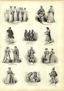Old Engravings Costumes Milan Italy Padua Verona 14th Sixteenth Century - <span itemprop='availableAtOrFrom'>Jarrow, United Kingdom</span> - If for any reason you are not satisfied with your item, do let us know. If you wish to return it, you may, within 7 days, and we will issue you with a full refund. Most purchases from busi - <span itemprop='availableAtOrFrom'>Jarrow, United Kingdom</span>