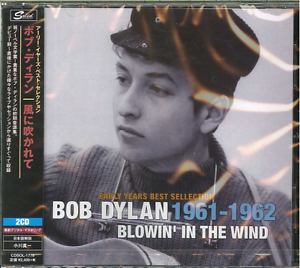 Bob-Dylan-Early-Years-Best-Selection-Blowin-039-The-Wind-Japan-2-CD-f30