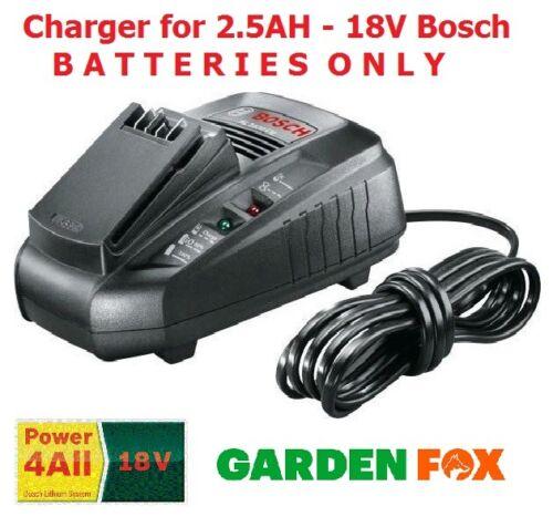 Carton Bosch AL1830CV powerall 2.5AH 18 V Chargeur 2607337199 FN