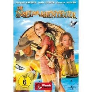 DIE-INSEL-DER-ABENTEUER-DVD-NEU-ABIGAIL-BRESLIN-JODIE-FOSTER-GERARD-BUTLE
