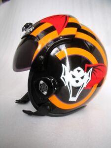 Topgun Viper Flight Helmet Hgu 33 Style Fighter Pilot Helmet Ebay