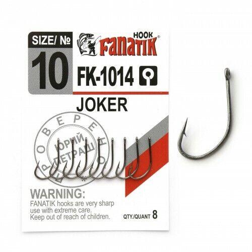 FANATIK Haken FK-1014 JOKER Friedfische VHI-Carbon 9 mm - 20.5 mm