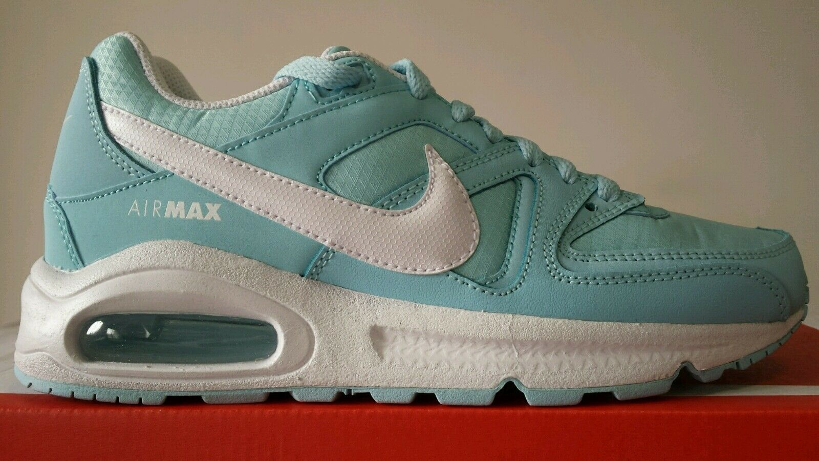NIKE AIR MAX COMMAND N.38,5 97 WMNS AZZURRINE BIANCA N.38,5 COMMAND LIMITED COLOR OKKSPORT d4c394