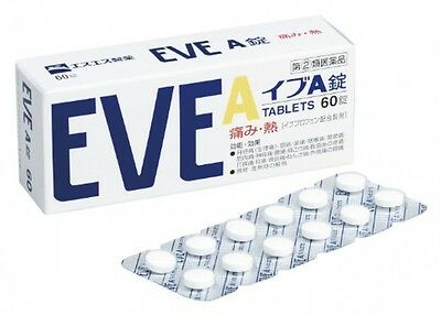 SSP EVE A 60-Tablets - headache relief
