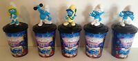 Smurfs: The Lost Village Movie Theater Exclusive Cup Topper Set With 12 Oz Cups