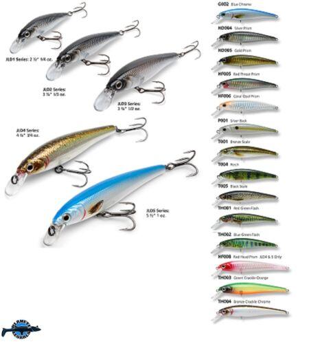 Leurre poisson nageur JLD1 BAKER 6,3cm 7gr pêche truite sandre perche bass pike