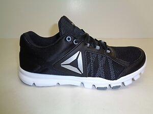 050c01041528 Reebok Size 8 YOURFLEX TRAINETTE 9.0 MT Black Training Sneakers New ...