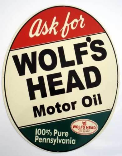 Tool Box Magnet Man Cave Item Wolf/'s Head Motor Oil  Sign Refrigerator