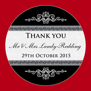 Image Is Loading Personalised Wedding Thank You Stickers Favour Envelope Seal