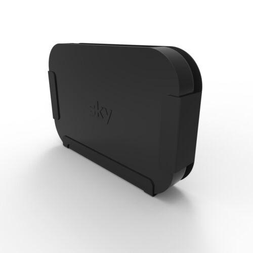 Wall Bracket For Sky Q Mini Box Penn Elcom Easy Stick Black Steel