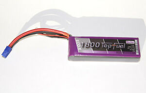Hacker Top Fuel ECO X- 20C Batterie/pile Lipo 3s/11,1V 1800mAh 21800341