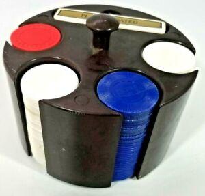 Vintage Case Poker Chip Set