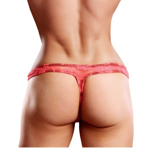 Sissy Pouch Lace G-string for Men
