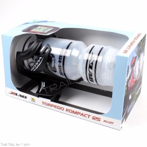 Garmin Mount XLAB Torpedo Kompact 125 Aerobar TT Hydration Water Bottle System