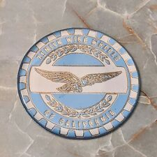 Blue Amp Gold Eagle Zenith Wire Wheel Chips Emblems Decals Set Of 4 Size 225in