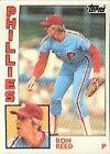 1984 Topps Ron Reed #43 Baseball Card