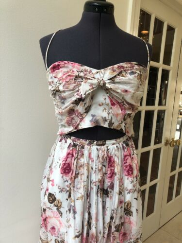 Zimmerman Rare Beautiful Floral Lace Dress