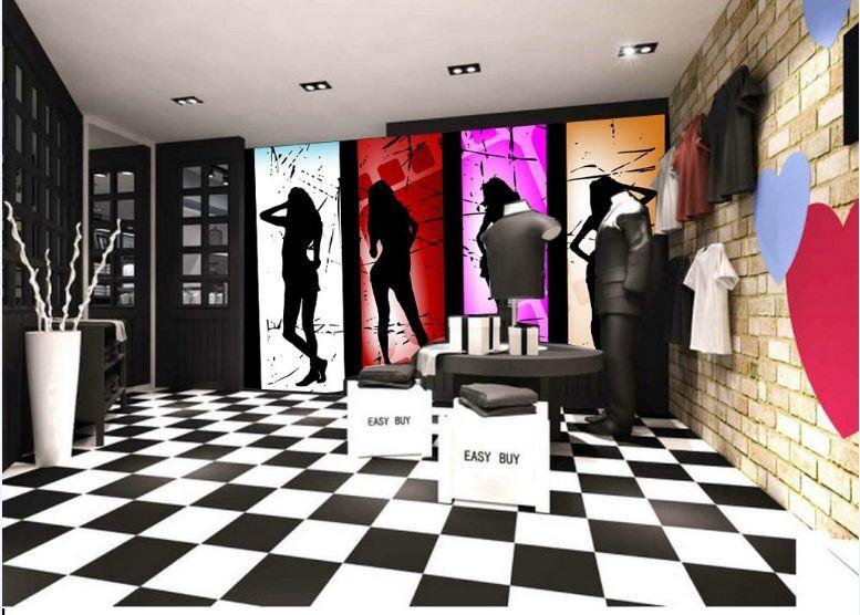 3D Schöne Modell 2667 Fototapeten Wandbild Fototapete BildTapete Familie DE