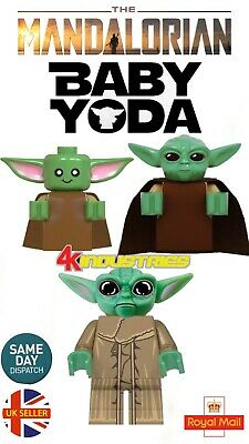 Baby Yoda Cup Mini Figure The Mandalorian Star Wars Mando Compatible UK Seller