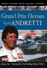 Mario Andretti - Grand Prix Heroes (New DVD) Narrated by Sir Stirling Moss