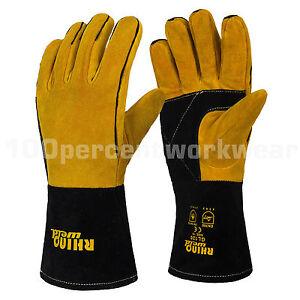 RHINOweld-Superior-Reinforced-Welding-Welders-Gauntlet-Work-Safety-Gloves-Lined