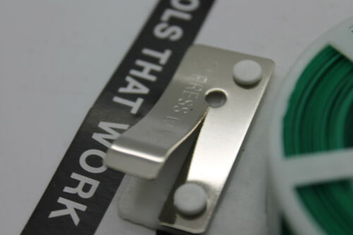 2x Bindedraht 30 m zink Grün Ummantelt handlicher Rolle Stahldraht Wickeldraht