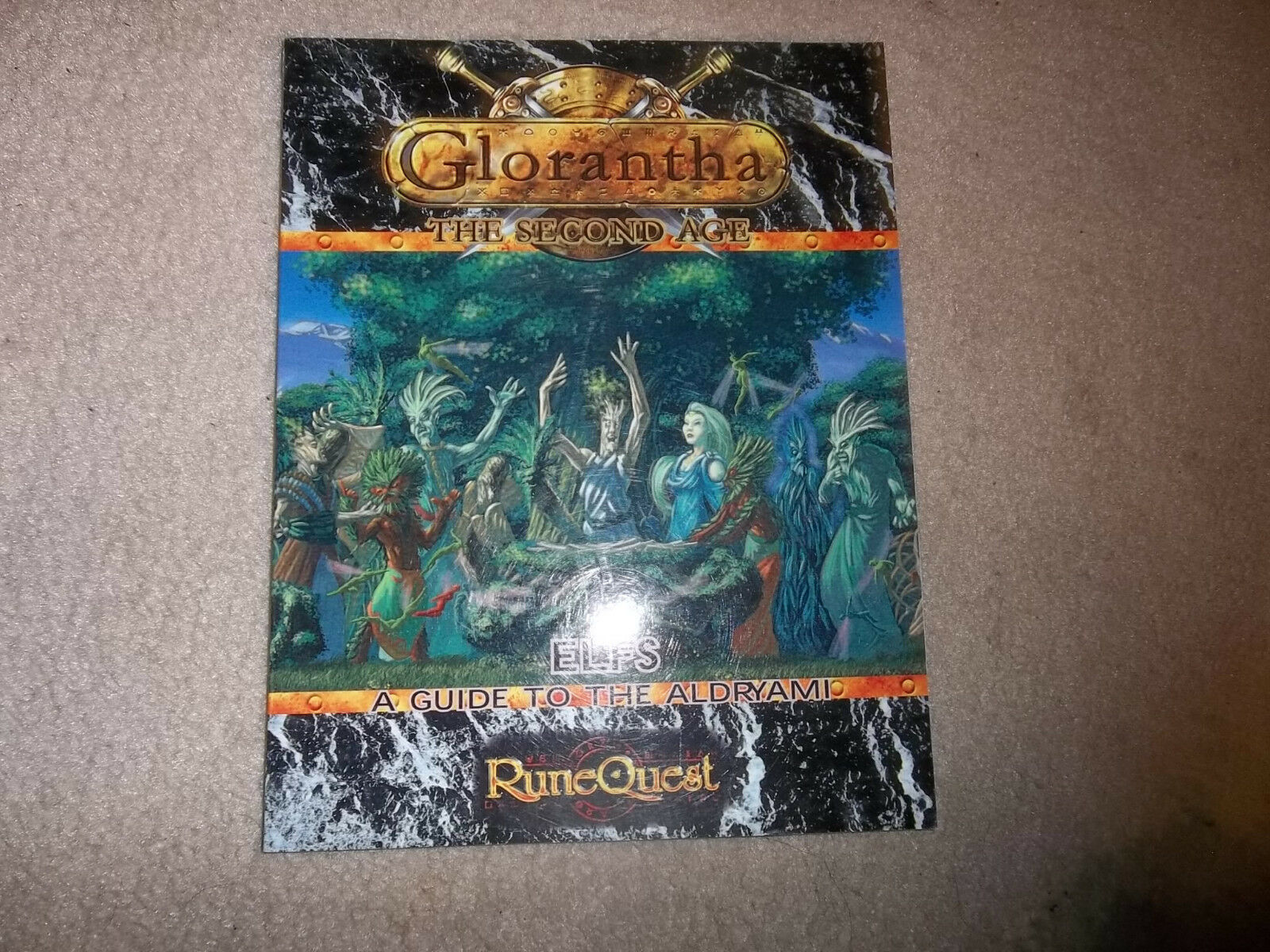 Runequest RPG Glorantha the Second Age Age Age Elfs a Guide to the Aldryami 5bc571